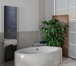 Badplanung in 3D Raumplanung Gestalten und Renovieren Innenausbau Badgestaltung